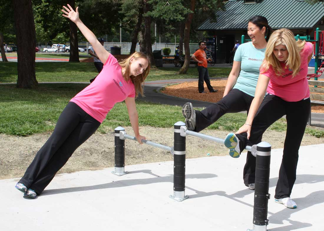 Fitness Equipment for parks and playgrounds