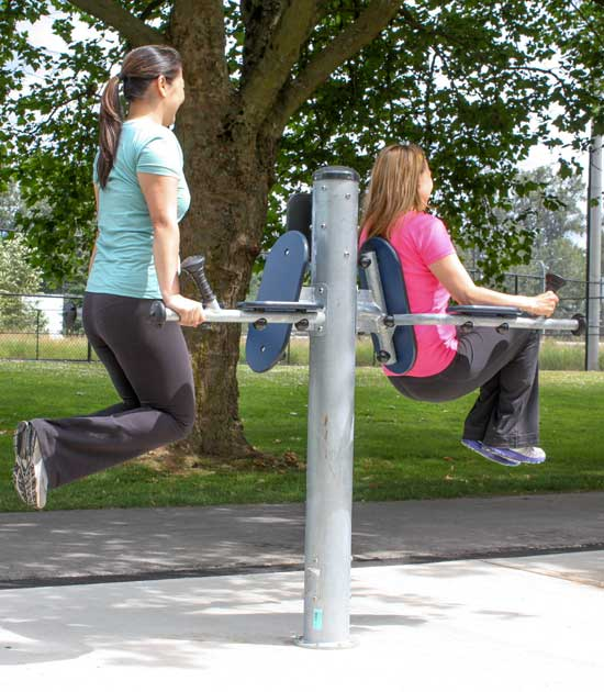 Park and Playground fitness equipment