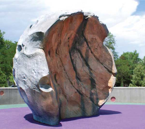 ids moon rock play sculpture