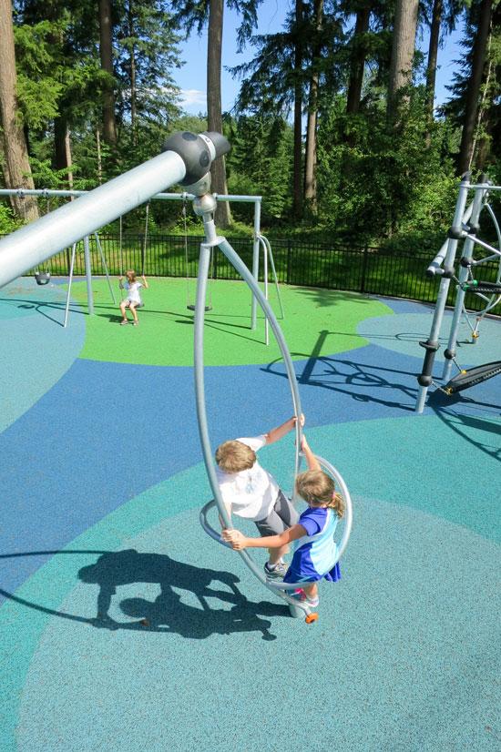 Spinner for Playground Equipment
