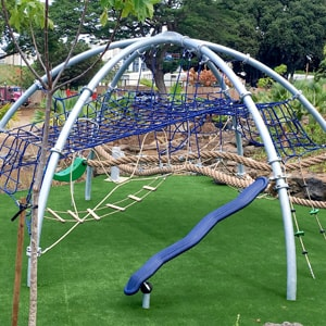 Dome Climber with amazing play value for parks and playgrounds and kids of every age