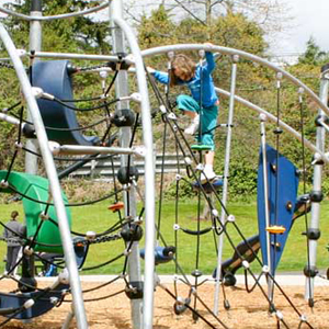 rope climbers and swings for playgrounds