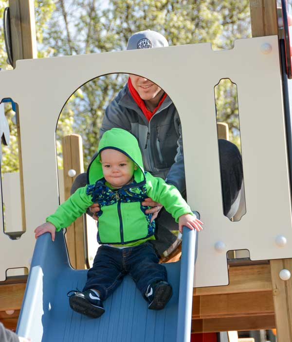 Safe toddler slides for churches, daycare centers and parks