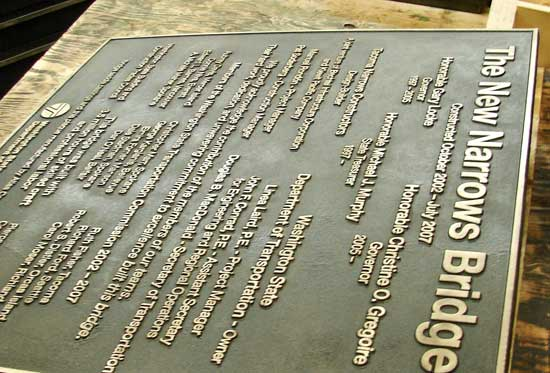 Bronze Plaques for Parks and Public Spaces