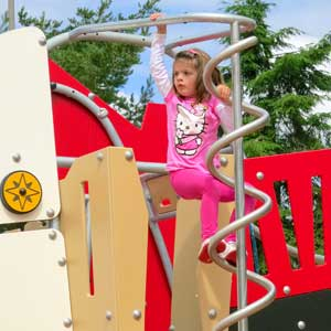 park equipment for pre-schoolers