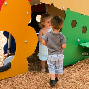 toddler and pre-school playground equipment