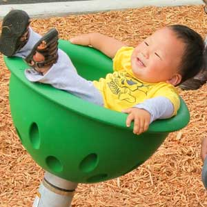 playground spinner for pre-schoolers