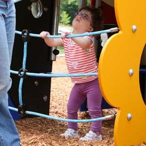 Parks and playgrounds for toddlers
