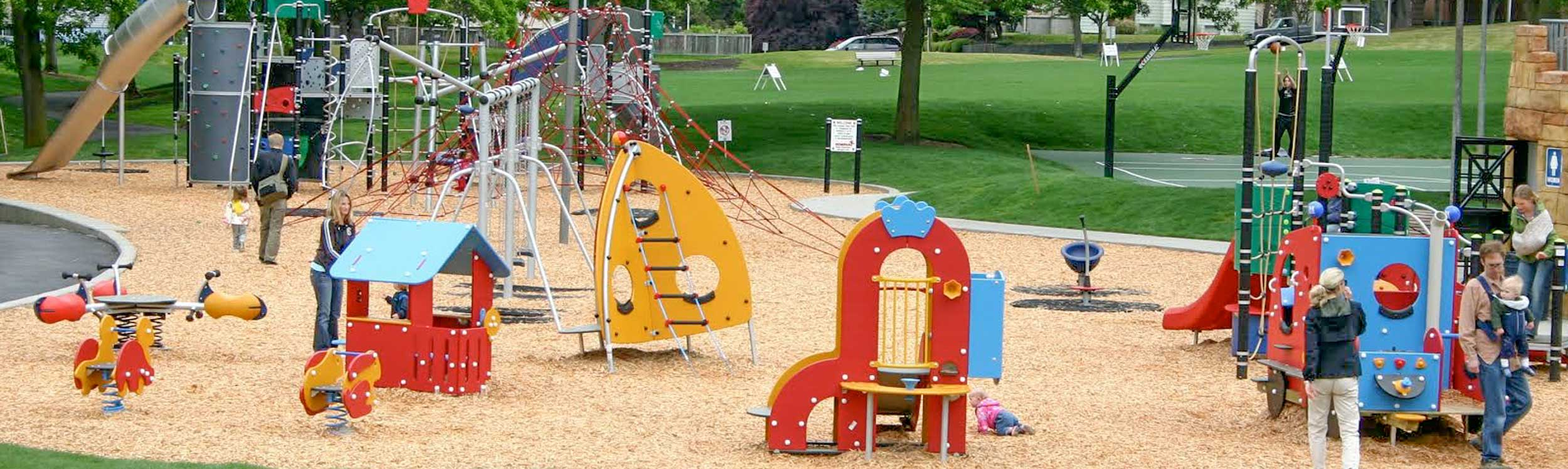 Playground and park equipment for every age