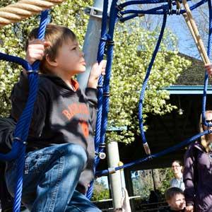 child at park