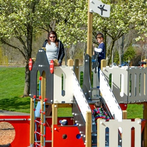 Pirate Themed Playground by Highwire