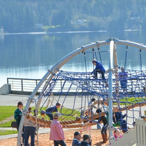 Dome Climber and Nautical Themed Playground by Highwire