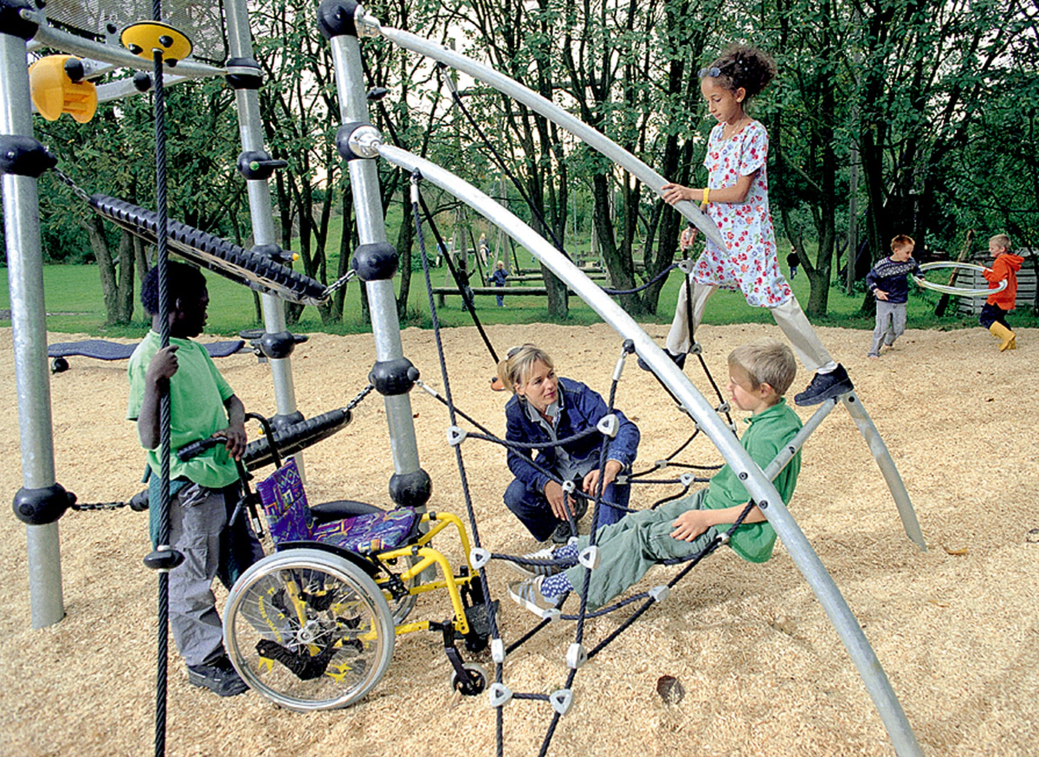 Special Needs Playground Equipment