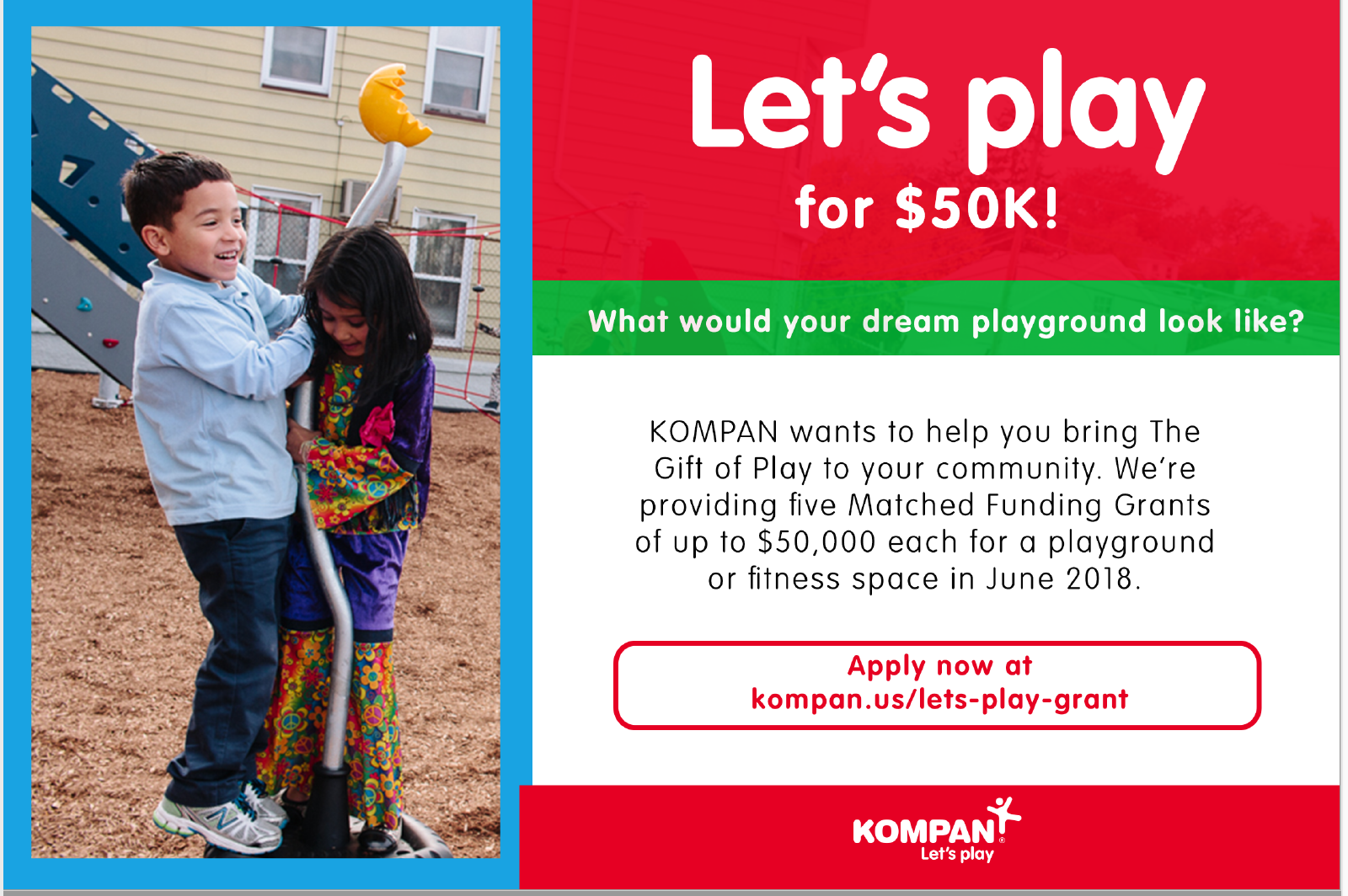Dream Playground Matching Funds