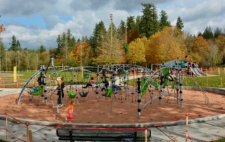 New Playground Equipment at Petrovitsky Park