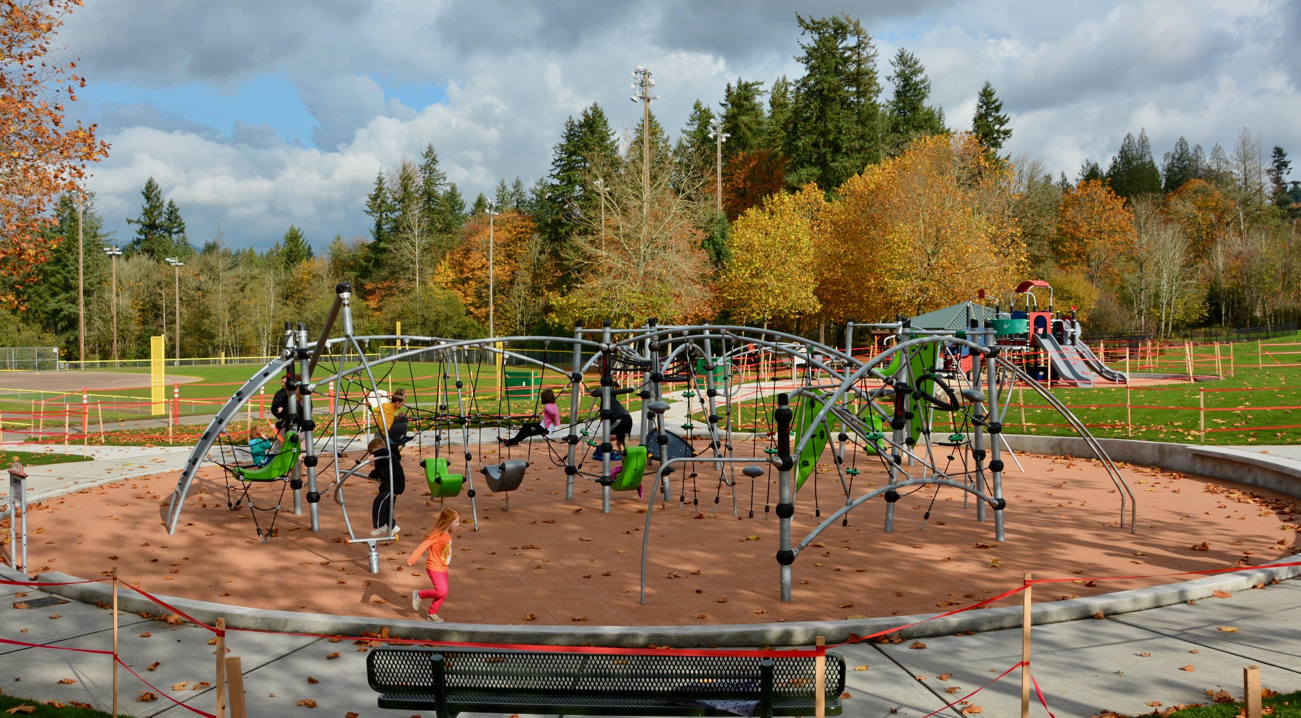 New Playground Equipment at Petrovitsky Park