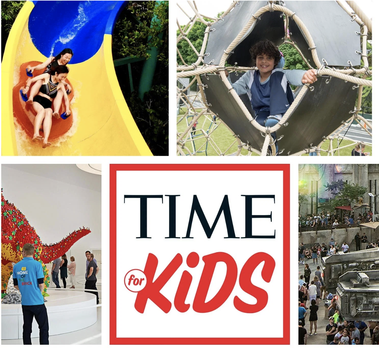 Time Magazine World's Coolest Places for Kids | Seattle Center Playground