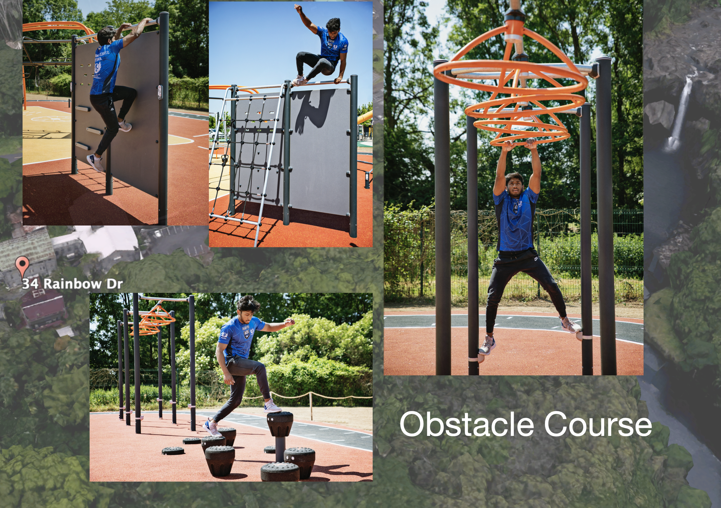 outdoor sports fitness equipment