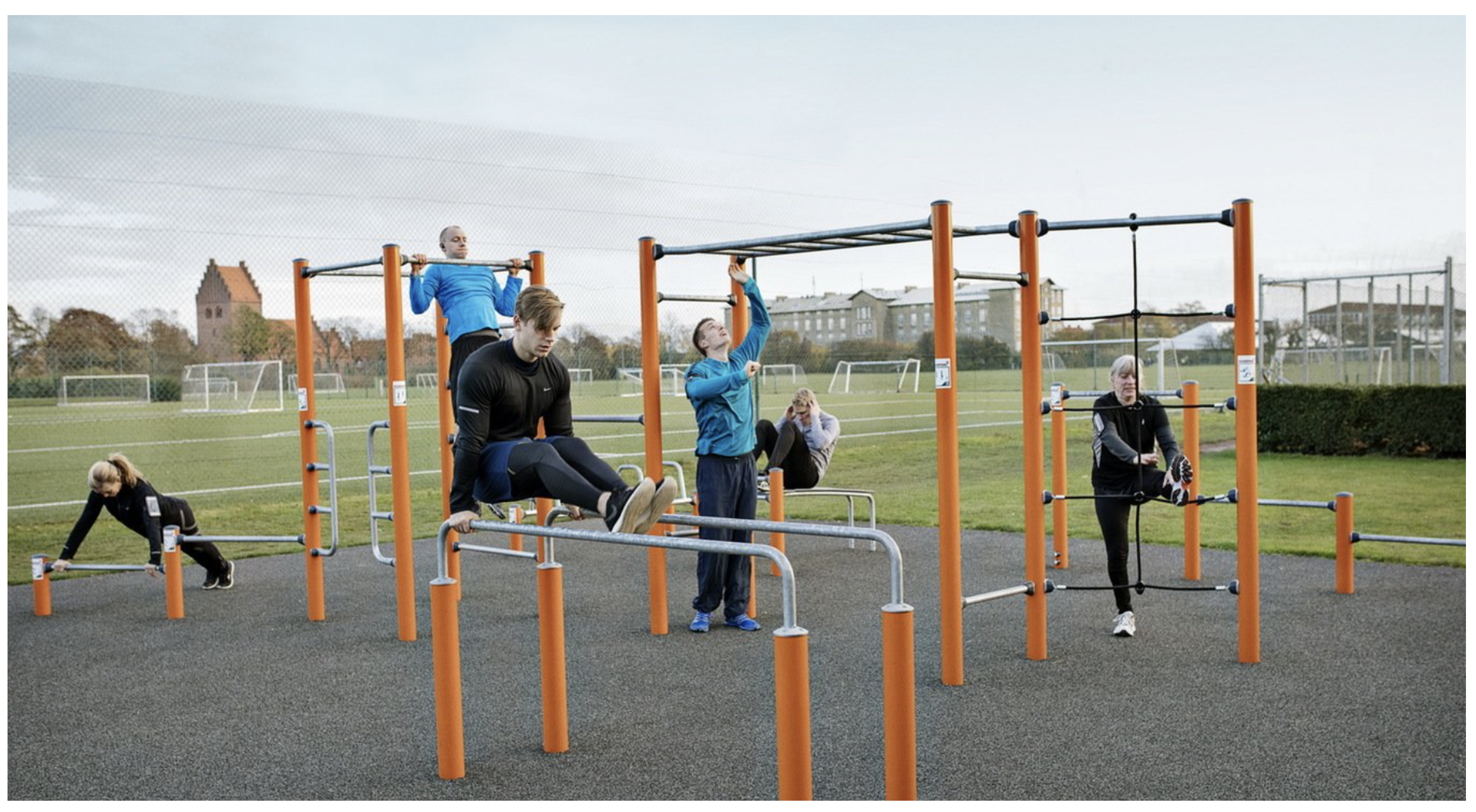 KOMPAN Outdoor Fitness Equipment
